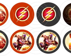 The Flash 15 adesivos