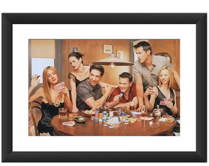 Quadro Friends Poker Serie Decoracao Art