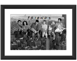 Quadro Friends Serie Seriado Arte Cult