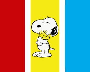 Painéis individuais Snoopy 1x0,40m