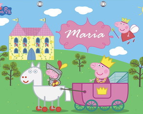 Painel Peppa Pig 1,80 x 1,20m