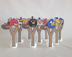 Tubete 3D Angry Birds