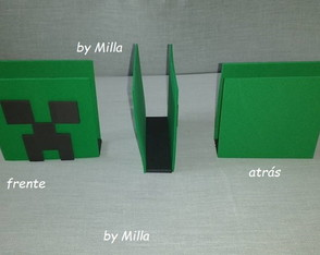 PORTA GUARDANAPO MINECRAFT CREEPER