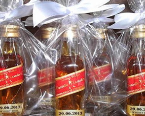Garrafinha Red Label personalizada