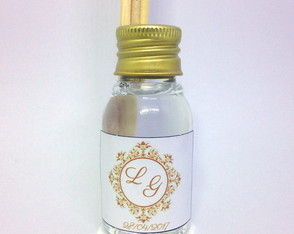 Mini Aromatizador 30 ml Basic com Tag