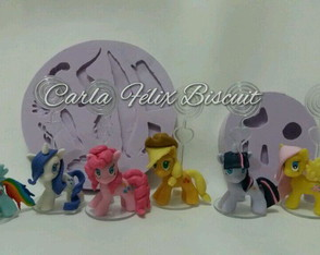 Molde turma My Little Pony