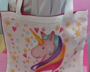 Ecobag Love Unicorn