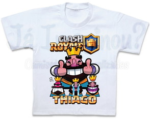 Camiseta Clash Royale Kings