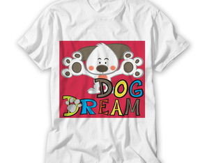 Camiseta Infantil Dog Dream