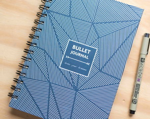 Caderno Pontilhado - Bullet Journal