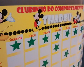 Painel de Incentivo Mickey Mouse