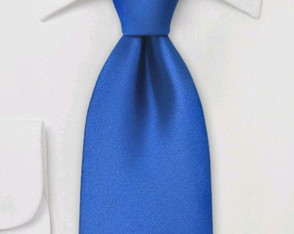 Gravata Azul Royal Slim fit ou Skinny
