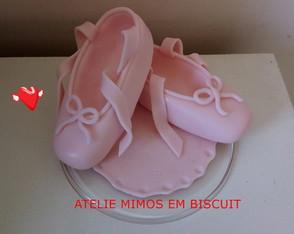 15cad45834 BAILARINAS - Coleção de ATELIÊ MIMOS EM BISCUIT ...