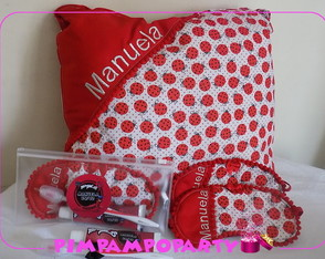 Kit festa do pijama miraculous lady bug