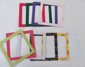 Kit De Molduras Scrapbook 8x8