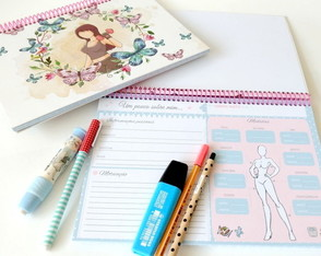 Planner Fitness butterfly
