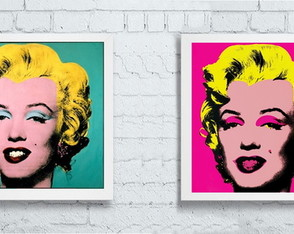 Quadros Marilyn Monroe pop art