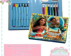 Mini Estojo Pintura Moana