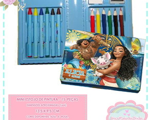 Mini Estojo Pintura Moana*