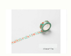 Washi Tape Floral - W00214