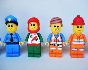 Mini Personagens Lego
