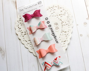 Cute Bow Lucky in Love (A117)