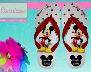CHINELO MICKEY E MINNIE