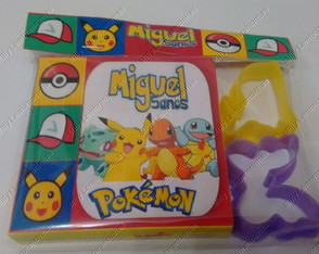 Massinha com molde - Pokemon