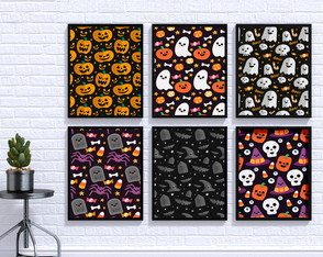 Poster Digital - Kit Hallowen