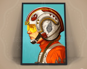 Quadro Luke Skywalker