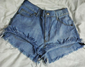Short Jeans Blue Light Basic