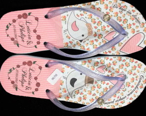Chinelo Personalizados Floral