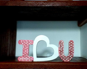 I Love You - 31x15