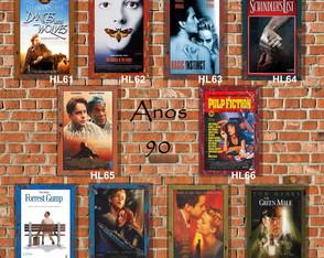 10 Quadros Decorativos Cinema Anos 90