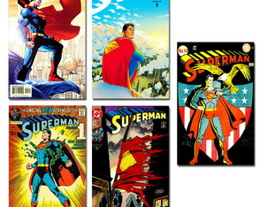 Ímãs Superman DC Comics Pack 10 und