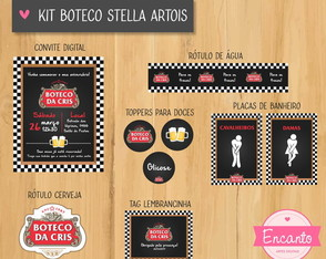 Kit Digital Boteco - Stella Artois
