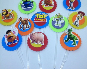 Toppers para doce: Toy Story