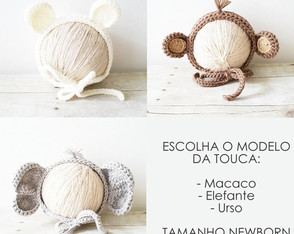TOUCA DE BICHINHOS NEWBORN