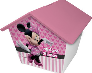 Casinha Cofre - Minnie