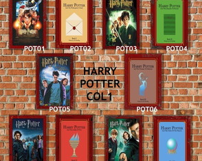 10 Quadros Decorativos Harry Potter