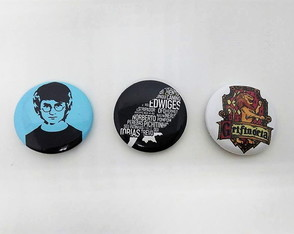 Bottons/Broche Harry Potter 5,5 cm