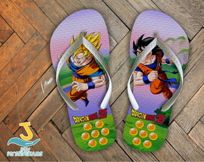 Chinelo Dragon Ball Z