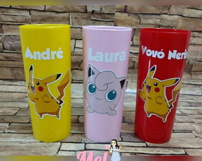 Copo Long Drink Pokemon