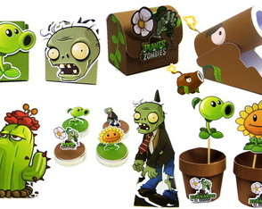 Kit Plants vs Zombies