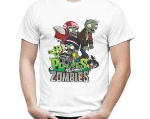 Camiseta Plants vs Zombies