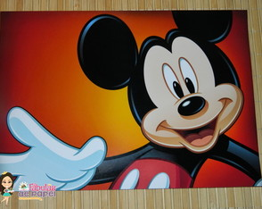 Placas Turma do Mickey