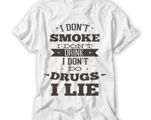 Camiseta I Don't Smoke