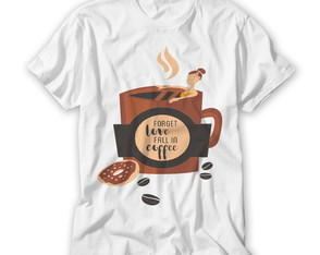 Camiseta Divertida Coffe