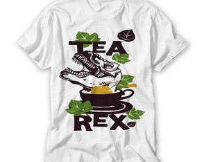 Camiseta Divertida Tea Rex