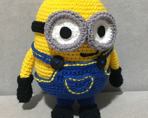 Minion de crochê